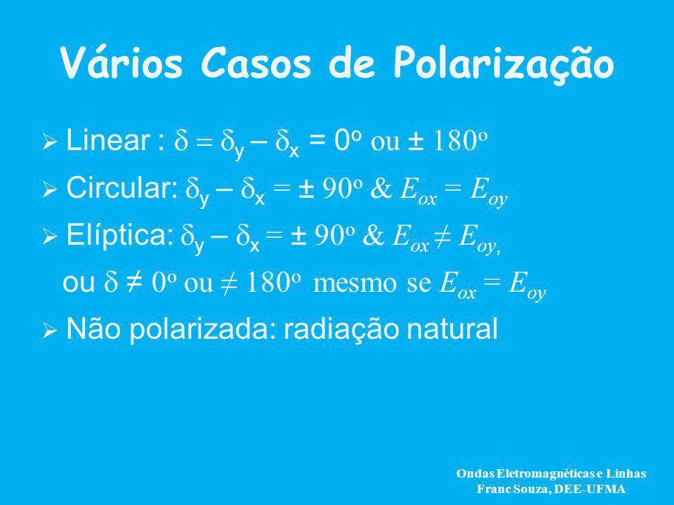 Vários Casos de Polarização