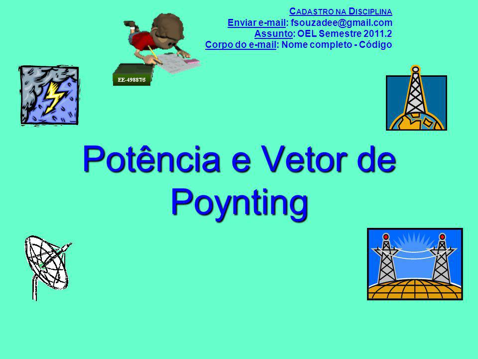 Potência e Vetor de Poynting