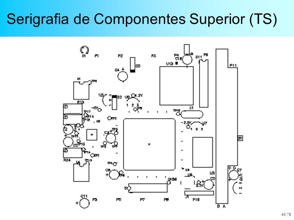 Serigrafia de Componentes Superior (TS)