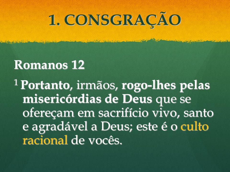 1. CONSGRAÇÃO