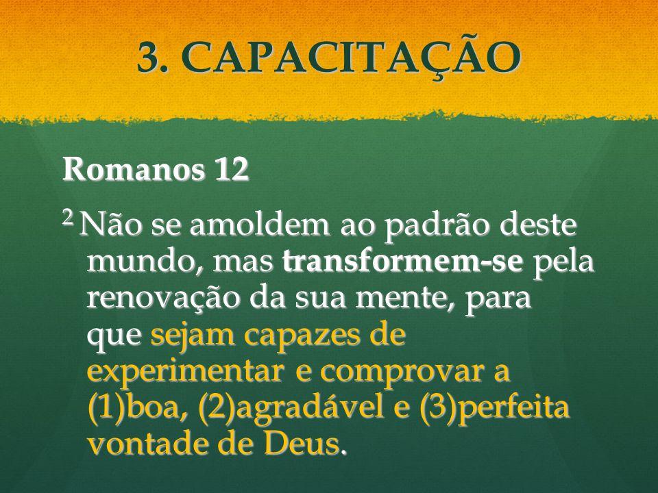 3. CAPACITAÇÃO Romanos 12.