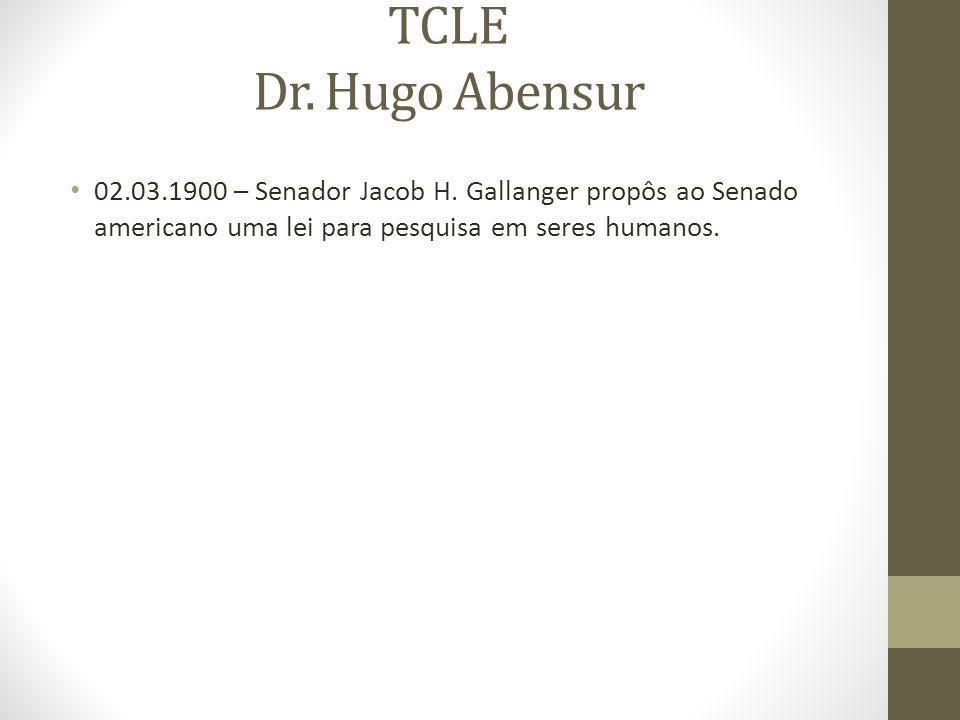 TCLE Dr. Hugo Abensur 02.03.1900 – Senador Jacob H.