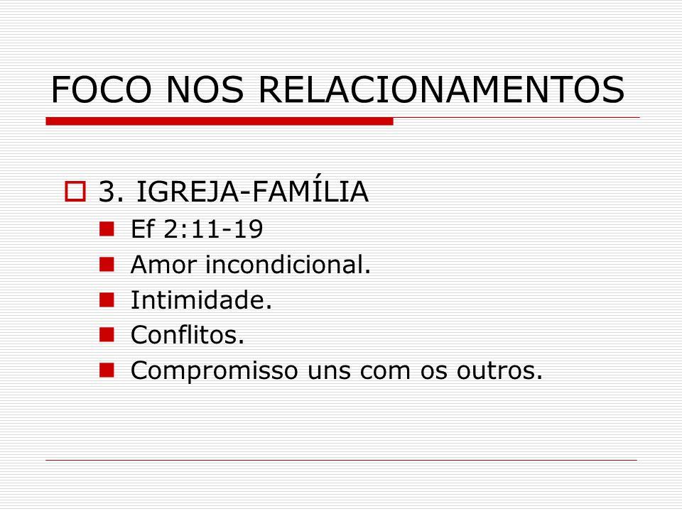 FOCO NOS RELACIONAMENTOS