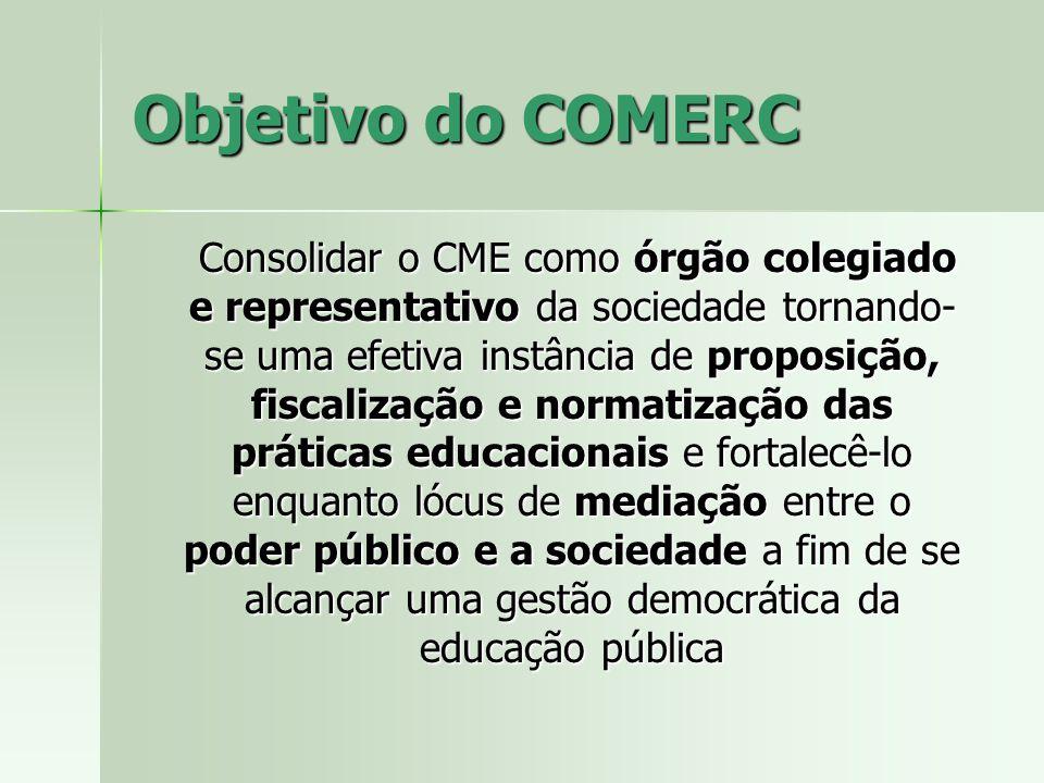 Objetivo do COMERC