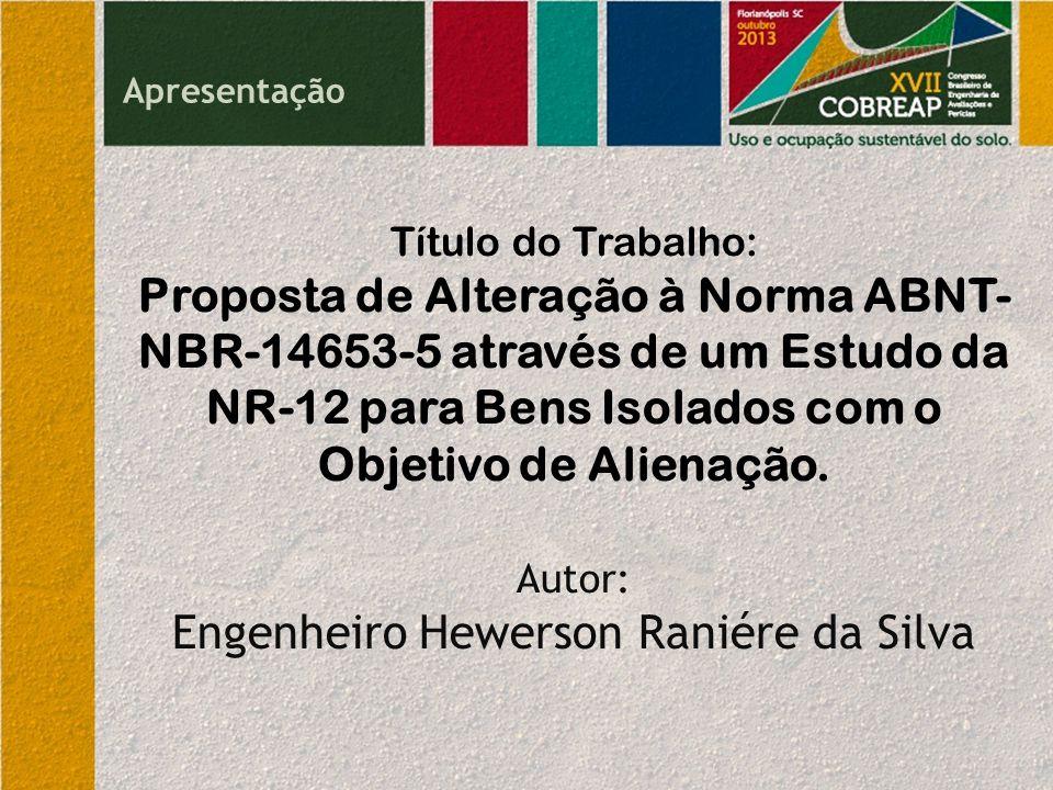 Engenheiro Hewerson Raniére da Silva