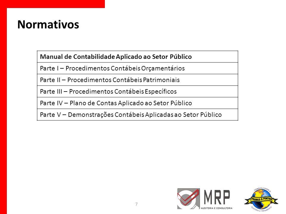 Normativos Manual de Contabilidade Aplicado ao Setor Público