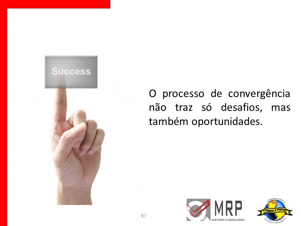 O processo de convergência não traz só desafios, mas também oportunidades.