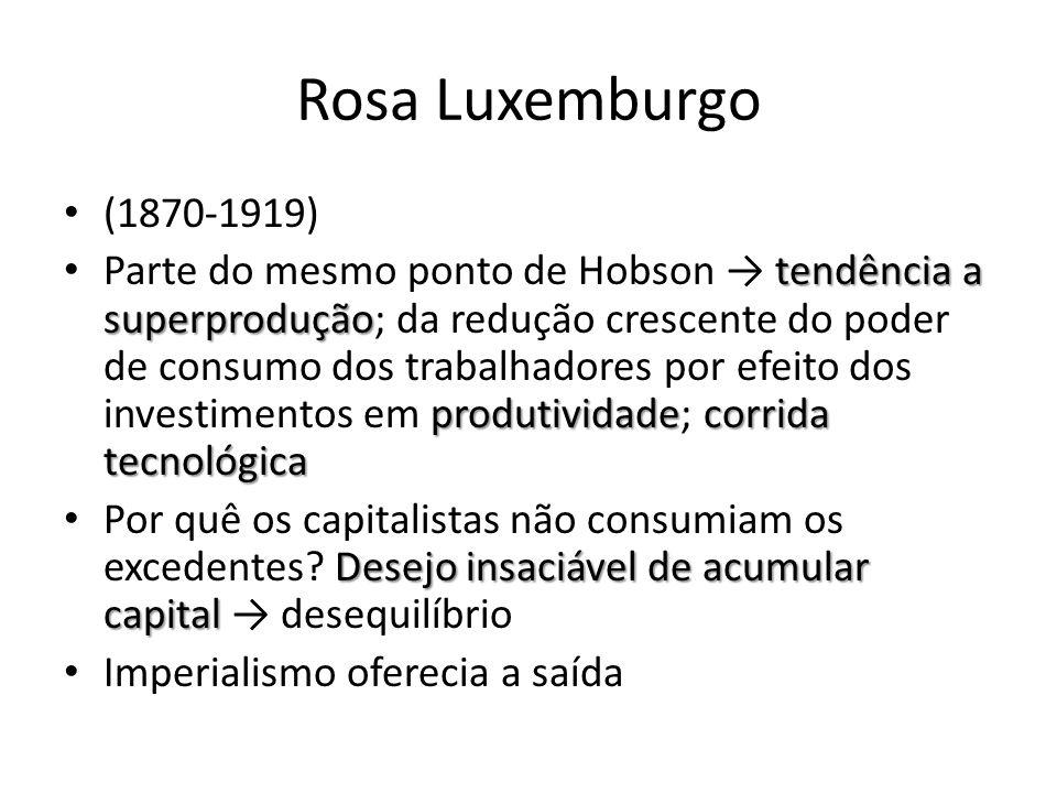 Rosa Luxemburgo (1870-1919)