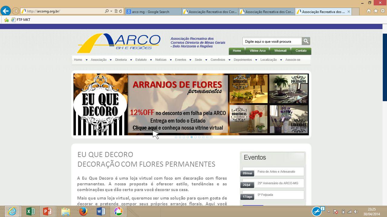 DECORAÇÃO COM FLORES PERMANENTES