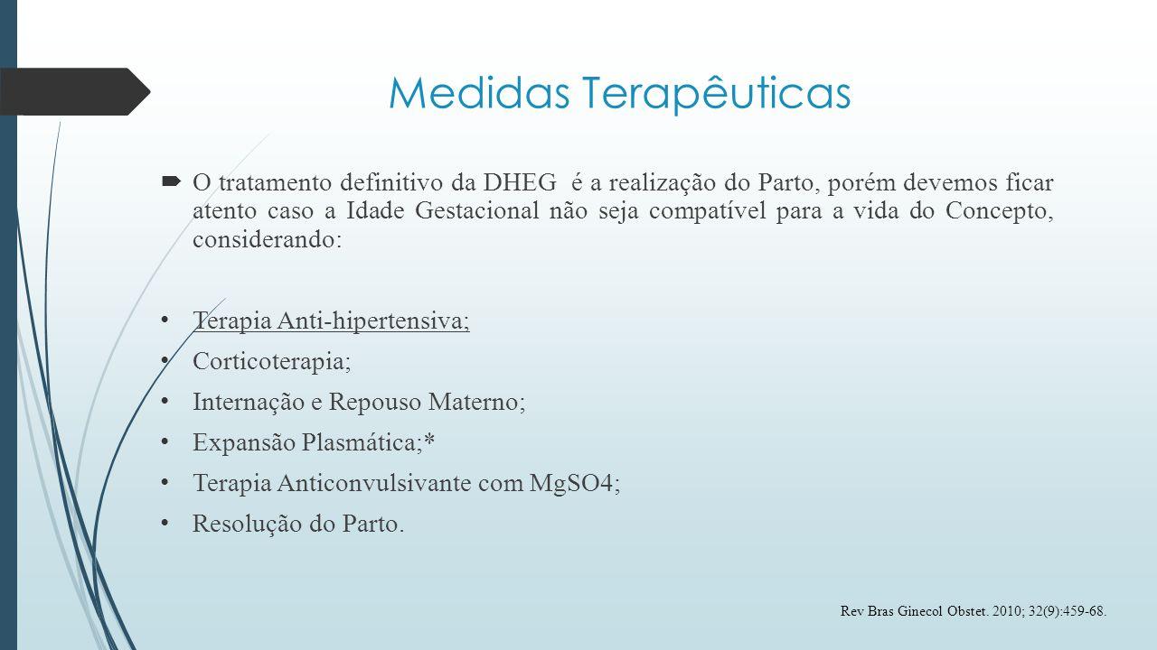 Medidas Terapêuticas
