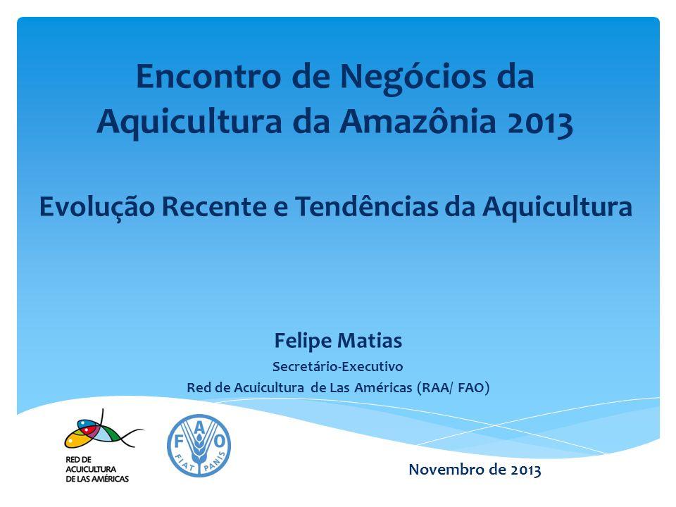 Secretário-Executivo Red de Acuicultura de Las Américas (RAA/ FAO)