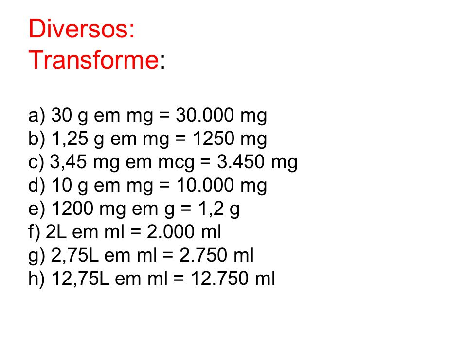 Diversos: Transforme: