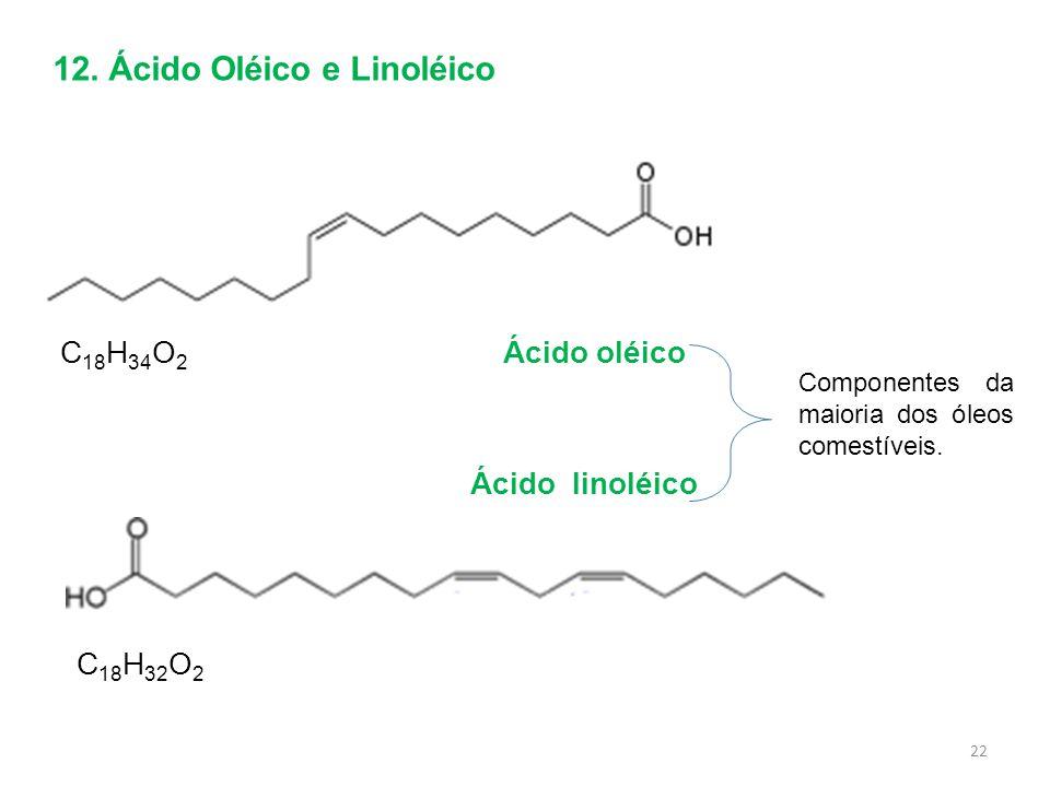 12. Ácido Oléico e Linoléico