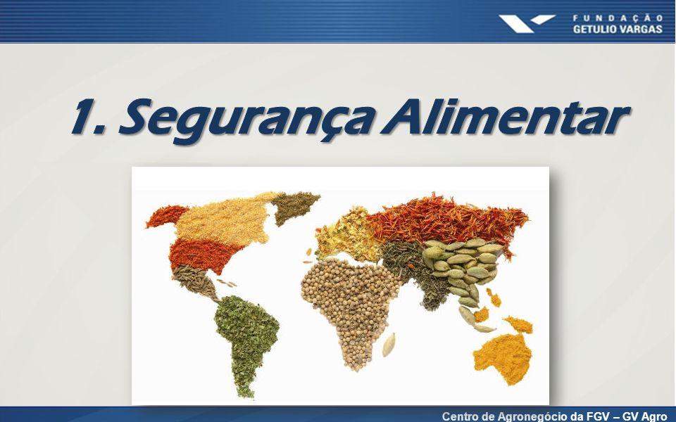 OCDE – projeção da produção de alimentos até 2020
