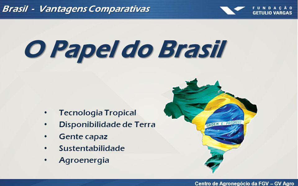Tecnologia Tropical – Produção Brasileira de Grãos