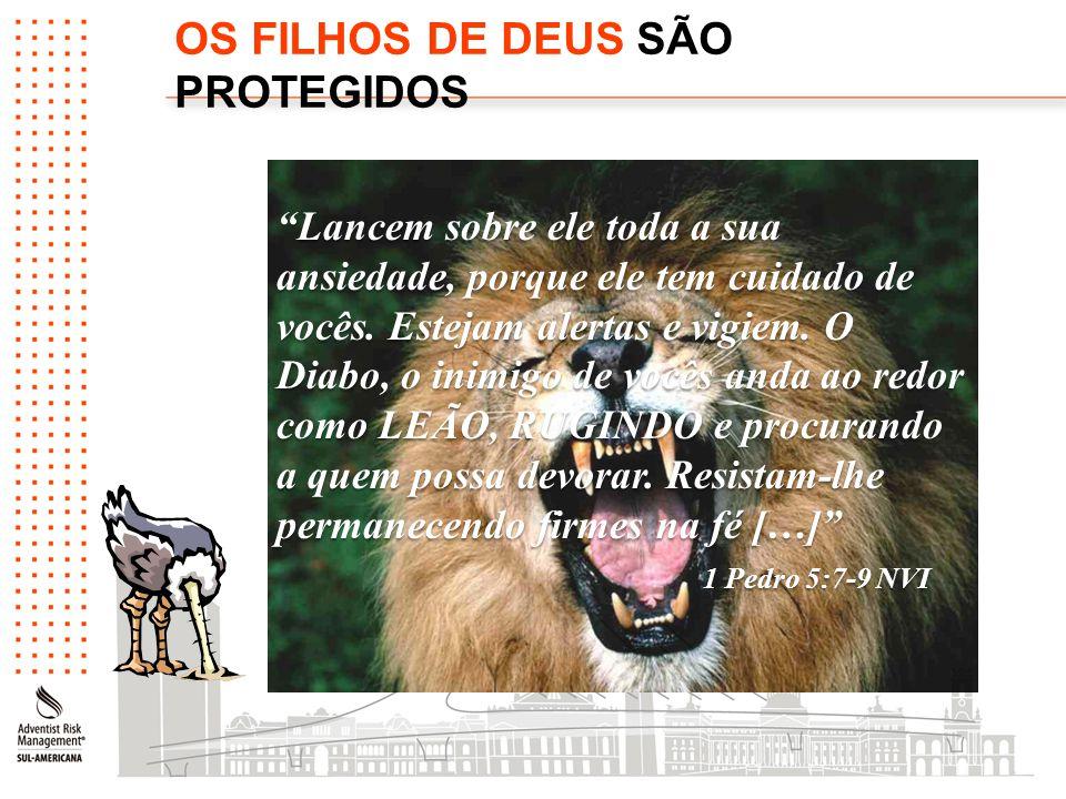 OS FILHOS DE DEUS SÃO PROTEGIDOS