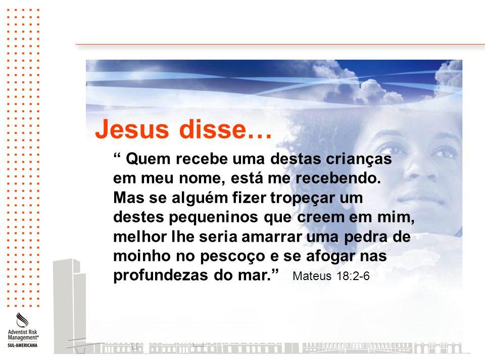 Jesus disse…