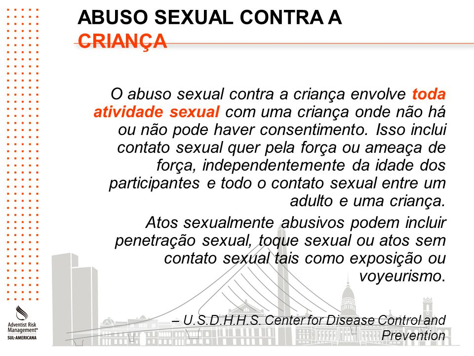 ABUSO SEXUAL CONTRA A CRIANÇA