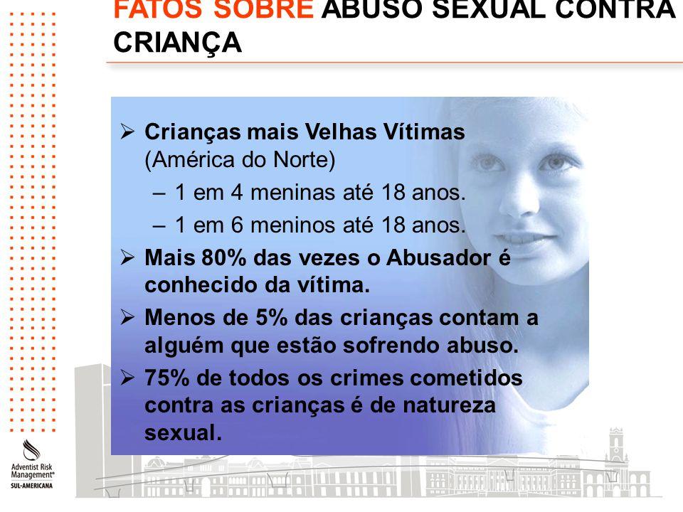 FATOS SOBRE ABUSO SEXUAL CONTRA CRIANÇA