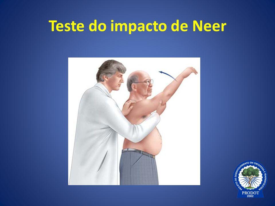 Teste do impacto de Neer