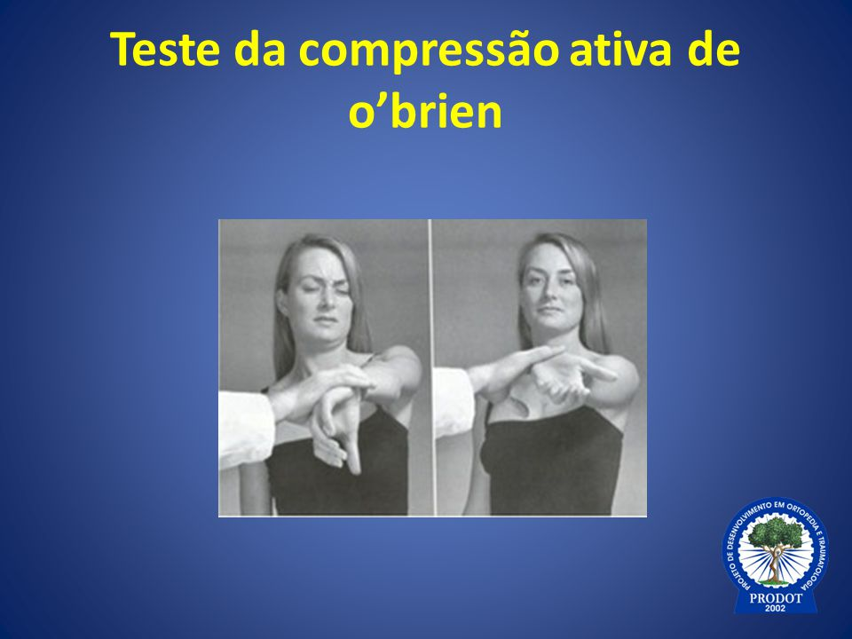 Teste da compressão ativa de o'brien