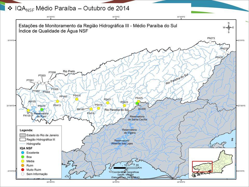 IQANSF Médio Paraíba – Outubro de 2014