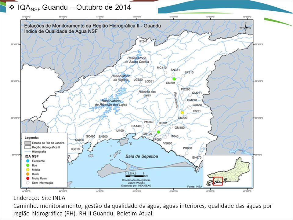 IQANSF Guandu – Outubro de 2014