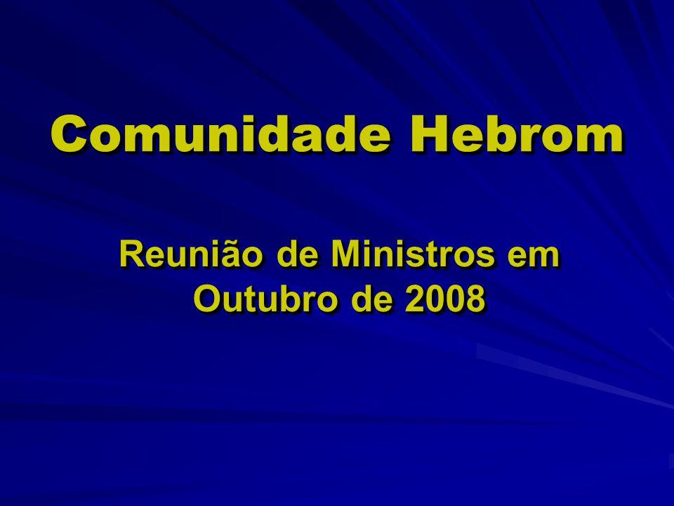 Reunião de Ministros em Outubro de 2008