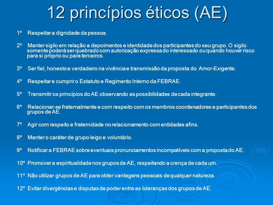 12 princípios éticos (AE)
