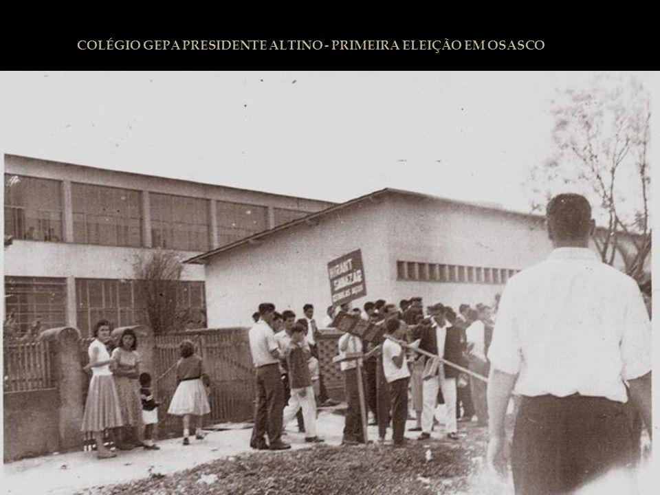 COLÉGIO GEPA PRESIDENTE ALTINO - PRIMEIRA ELEIÇÃO EM OSASCO