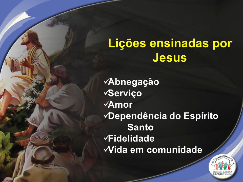 Lições ensinadas por Jesus