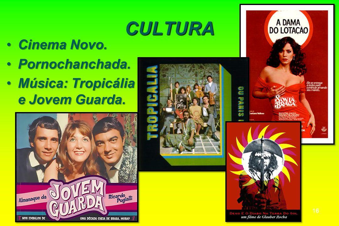 CULTURA Cinema Novo. Pornochanchada.