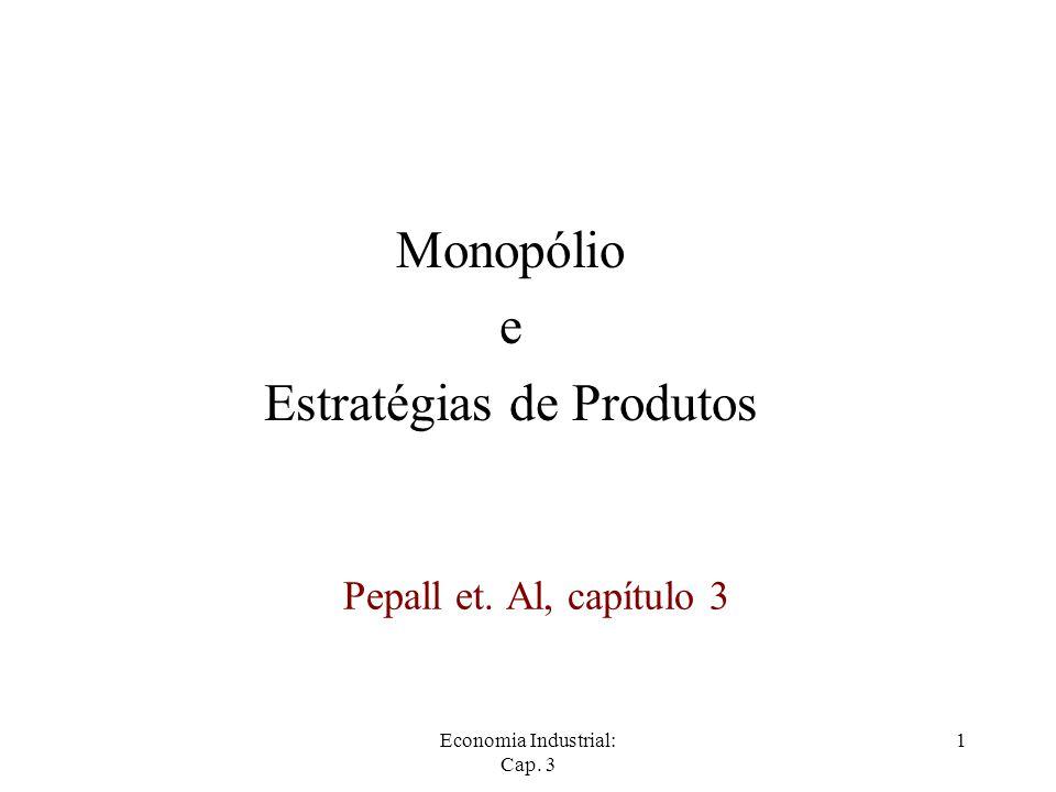 Monopólio e Estratégias de Produtos