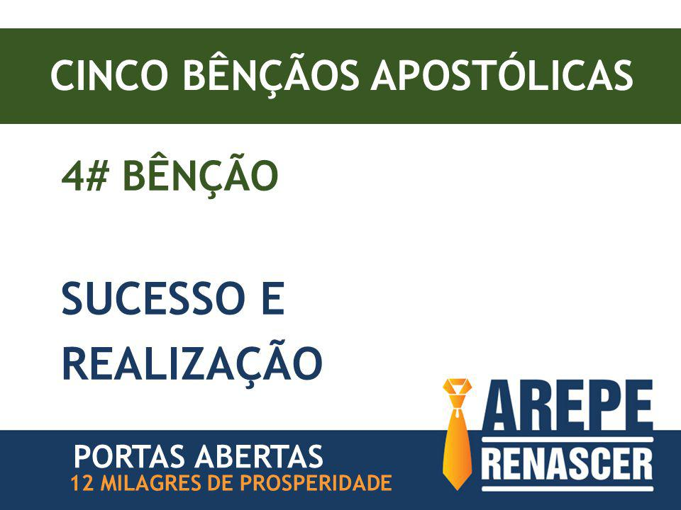 CINCO BÊNÇÃOS APOSTÓLICAS