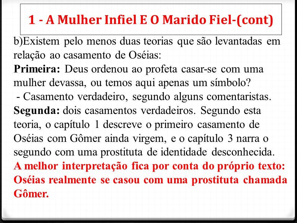 1 - A Mulher Infiel E O Marido Fiel-(cont)