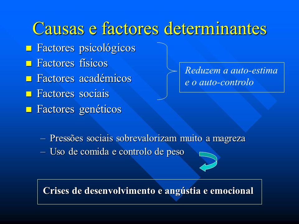 Causas e factores determinantes