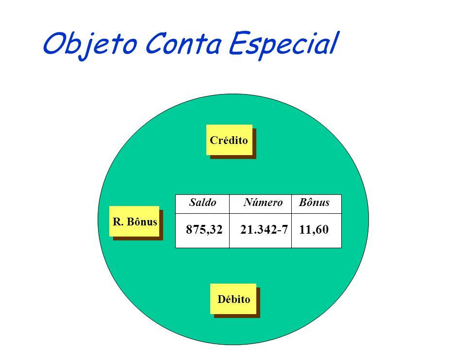Objeto Conta Especial 875,32 21.342-7 11,60 Crédito Saldo Número Bônus
