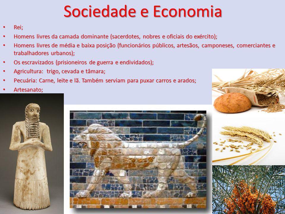 Sociedade e Economia Rei;