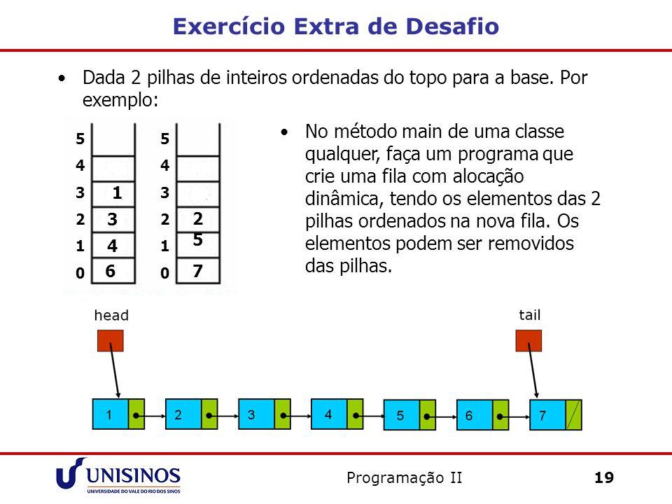 Exercício Extra de Desafio