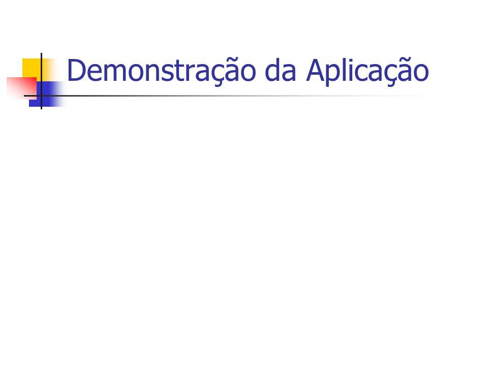 Demonstração da Aplicação