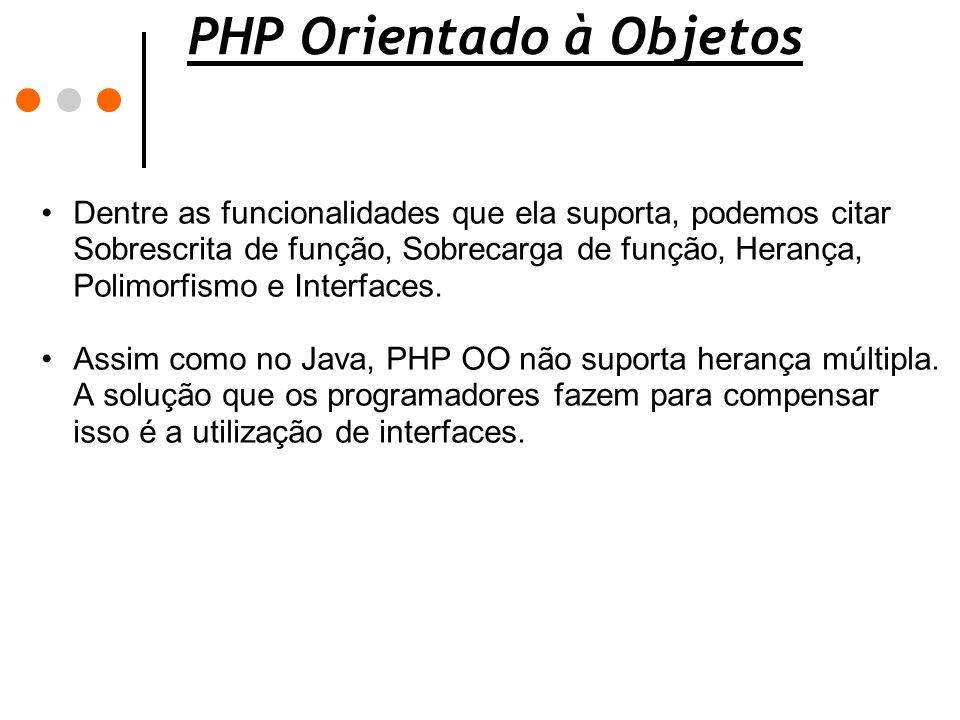 PHP Orientado à Objetos