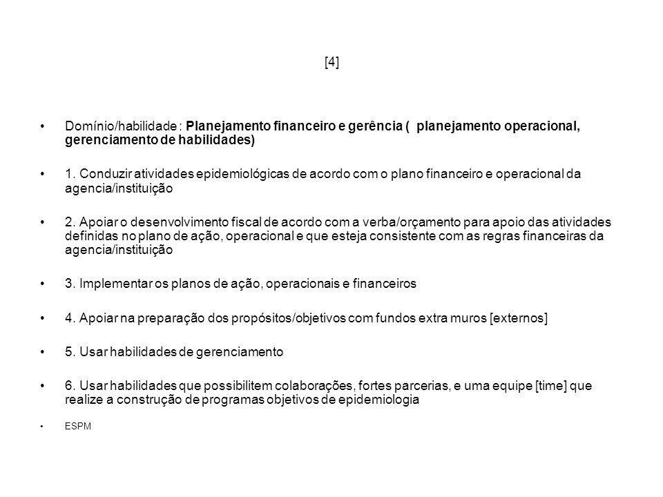 3. Implementar os planos de ação, operacionais e financeiros