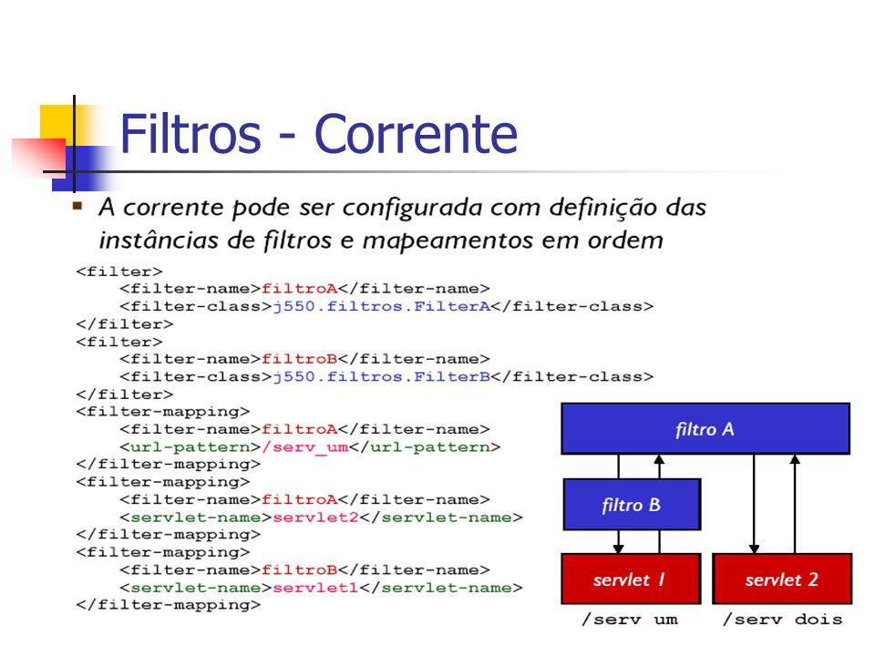 Filtros - Corrente