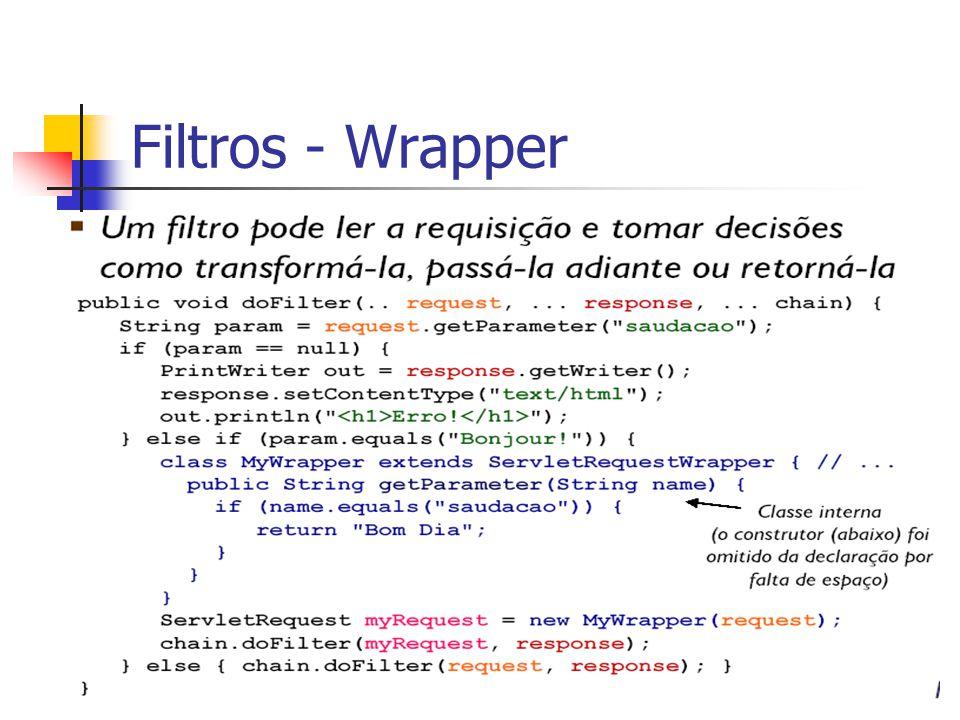 Filtros - Wrapper