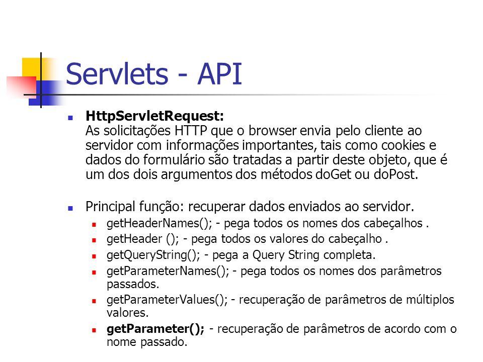 Servlets - API