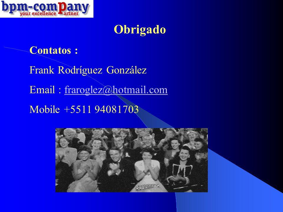 Obrigado Contatos : Frank Rodríguez González