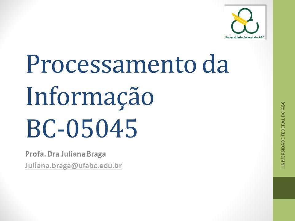 Processamento da Informação BC-05045