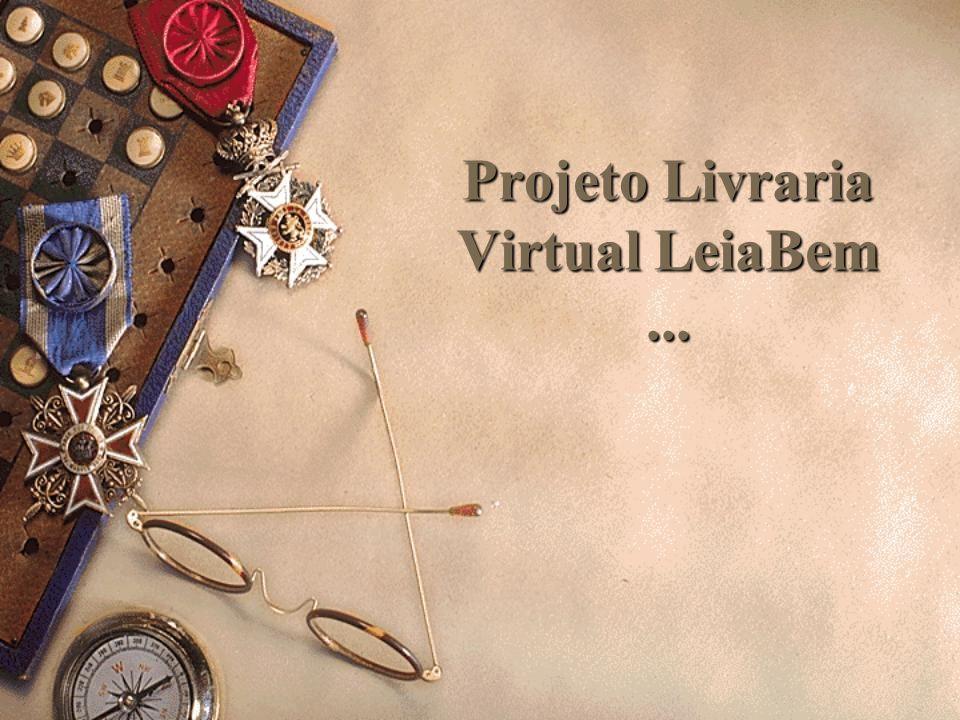 Projeto Livraria Virtual LeiaBem ...