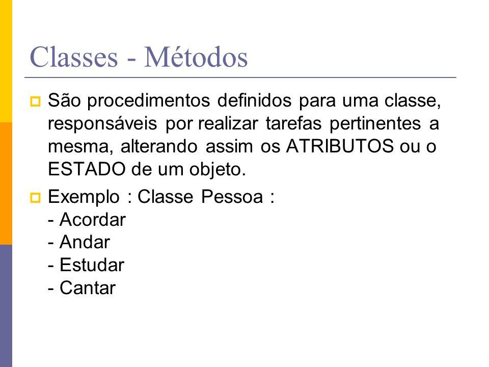 Classes - Métodos