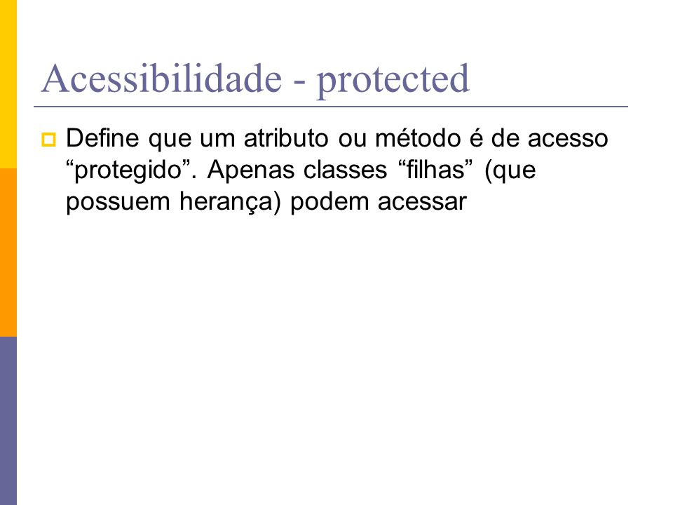 Acessibilidade - protected